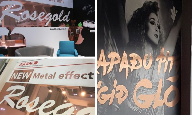 ASLAN introduces new rosegold metallic film