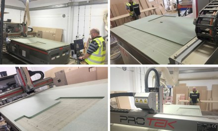 EBM installs a Protek Unico CNC production router