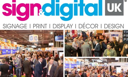 Sign & Digital UK2018 announces increased exhibitor presence
