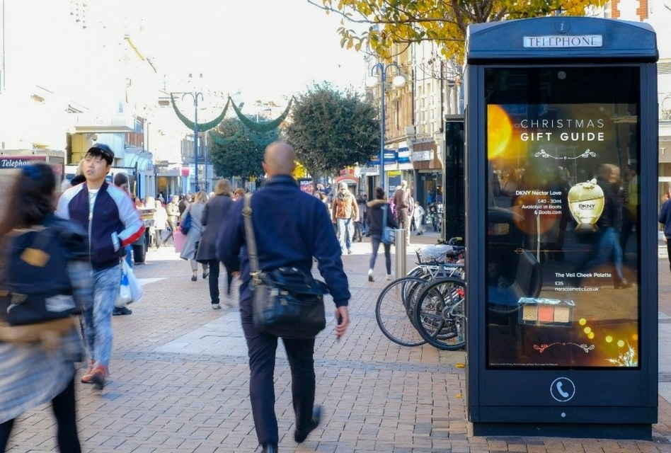 Clear Channel unveils new DOOH Christmas Gift Guide