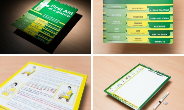Signs for Safety introduces 'First Aid at a Glance' guide