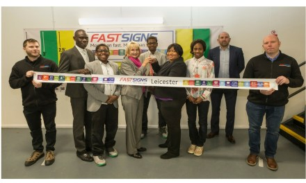 Fastsigns' CEO opens new Leicester centre