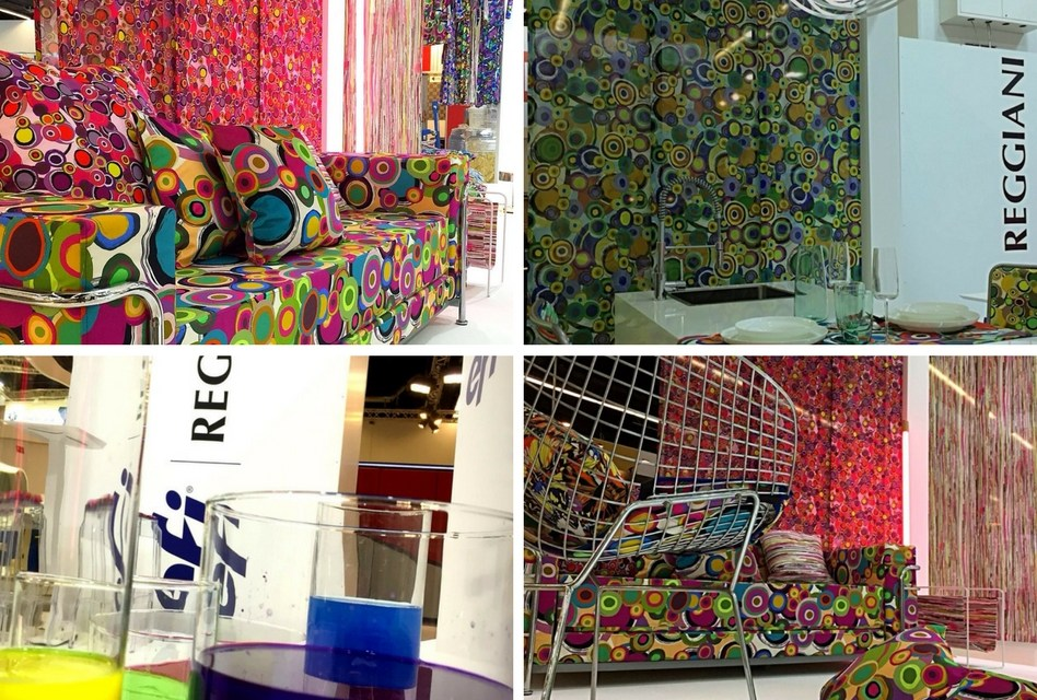EFI Reggiani showcases décor possibilities at Heimtextil