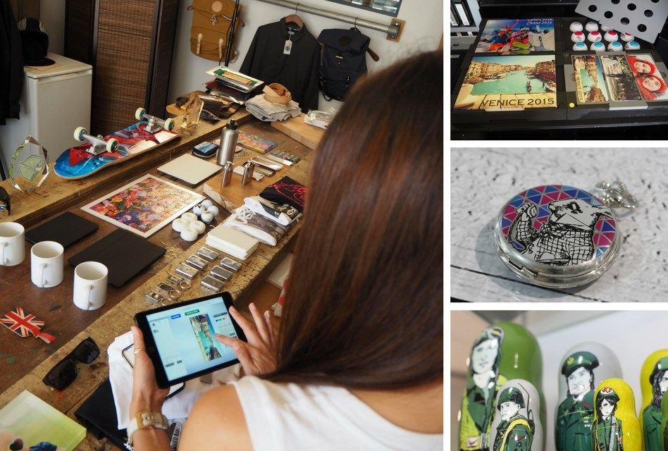 printMAX to host personalisation pop-up
