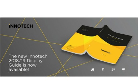 Innotech Digital publishes its 2018 Display Catalogue