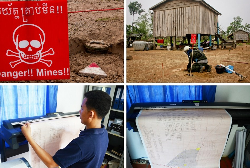 Mapping the world's minefields