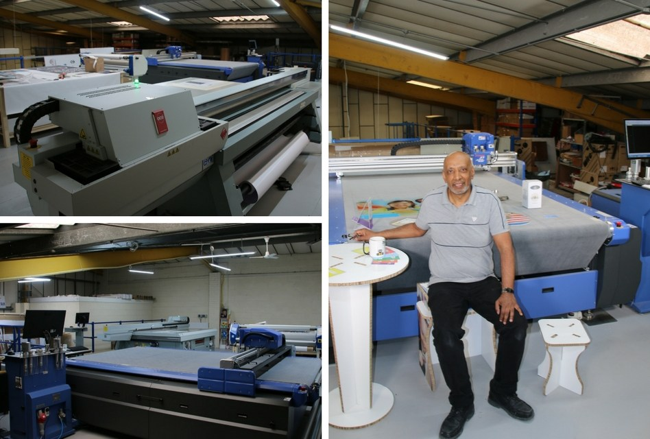 Tristar Printers use a DYSS cutter to add value