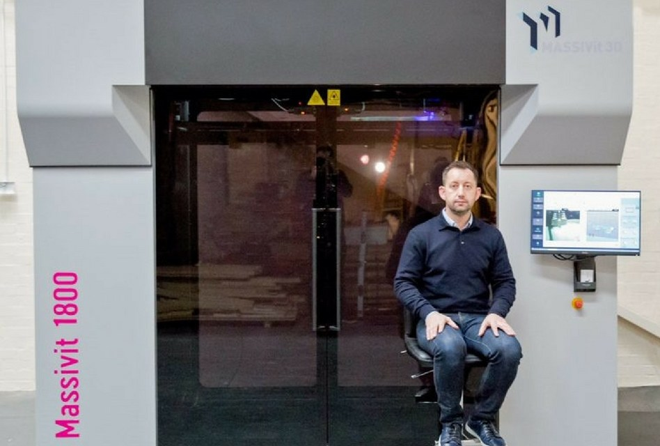 Andesign invests in a Massivit 1800 3D Printing Solution