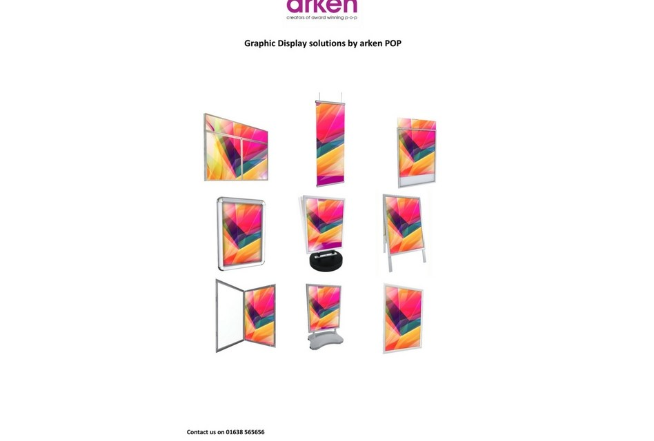 Arken to showcase its next-generation of signs and poster displays