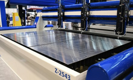 AXYZ enters waterjet cutting industry