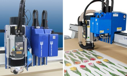 Trident print finishing system to shine at Sign & Digital UK