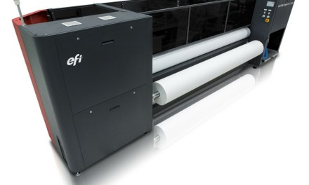 EFi to unveil its latest in-line sublimation printer