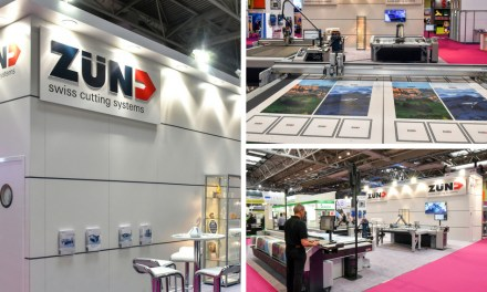 Zünd UK scores a double whammy at Sign and Digital UK