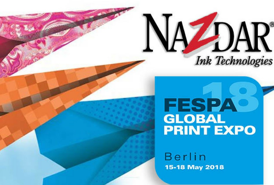 Nazdar Ink Technologies meets objectives at FESPA 2018