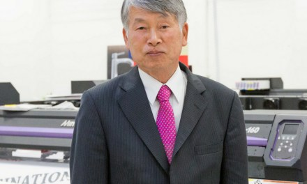 Sakae Sagane, Chairman of Mimaki Europe, has retired