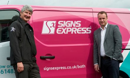 Signs Express opens a new franchise in Bath