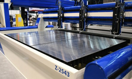 AXYZ now offers advanced waterjet cutting solutions