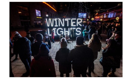 NeonLux dazzles at Winter Lights festival