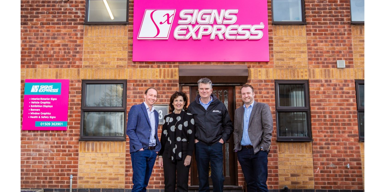 Signs Express opens a new centre in Loughborough