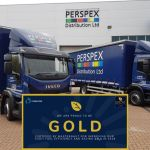 Perspex awarded Gold status for fleet efficiency