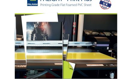 Palight Print Plus from Perspex Distribution is whiter than white