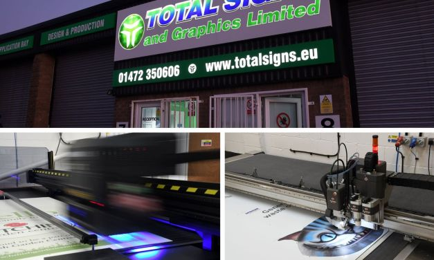 Total Signs and Graphics succumbs to a 'happy push'