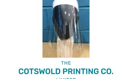 Cotswold Printing Company makes 30,000 PPE masks