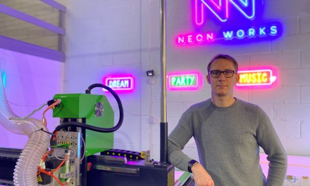 A Huddersfield signwriter launches Neon Works