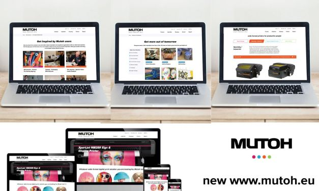 Mutoh introduces its new and improved website