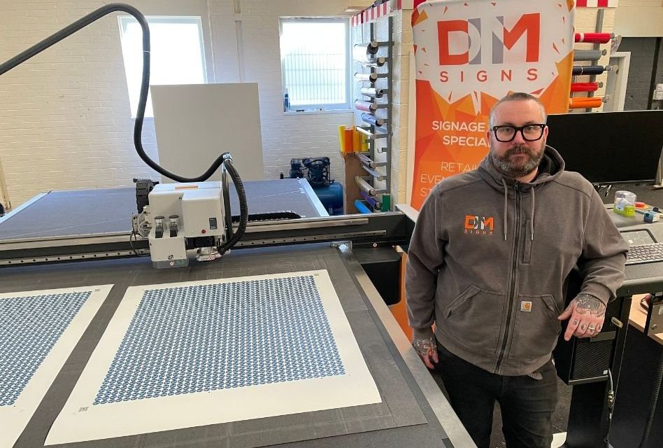 DM Signs upgrades its printing and finishing equipment