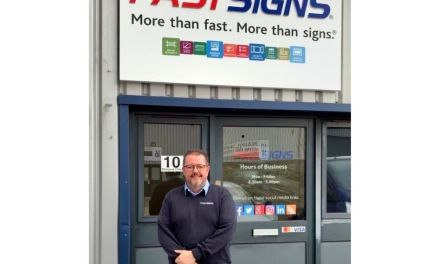 Fastsigns Peterborough celebrates a string of successes