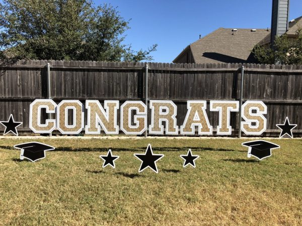 Sign Dreamers Book Perfect Graduation Yard