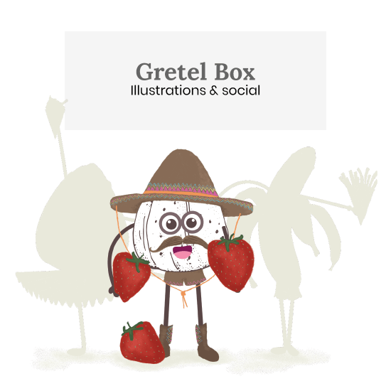 Gretel Illustrations & Social