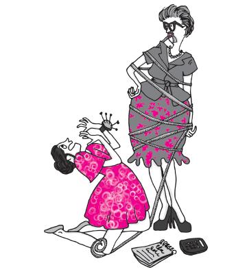 Editions Solar les belles-mères illustrations