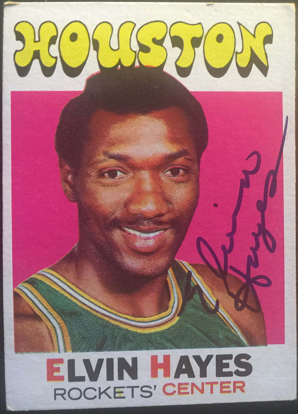 The NBA 50 Elvin Hayes