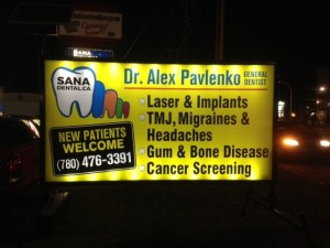Lighted Mobile Signs Edmonton