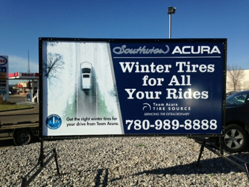 Portable Sign Rental Edmonton