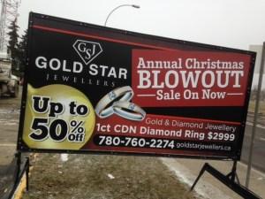 Mobile Sign Rental Edmonton