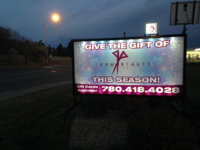 Portable Signs Edmonton
