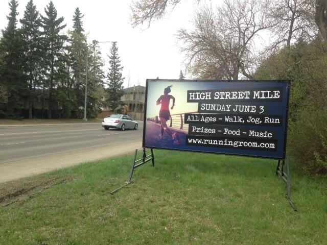 Mini Billboards Edmonton