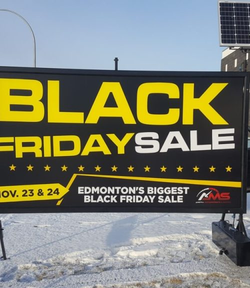 Portable Sign Rental North Battleford