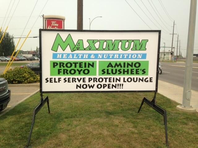 Advertising Sign Rental