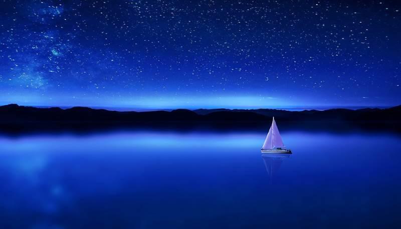 El significado del color azul más popular es el de libertad y tranquilidad
