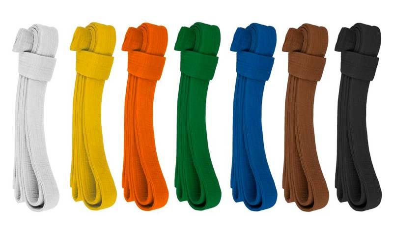 Colores de los Cinturones de Judo