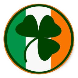 el trebol de color verde es el símbolo de Irlanda