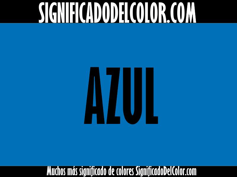 Significado del Color Azul ▷【SUEÑOS, ROPA, DECORACIÓN】