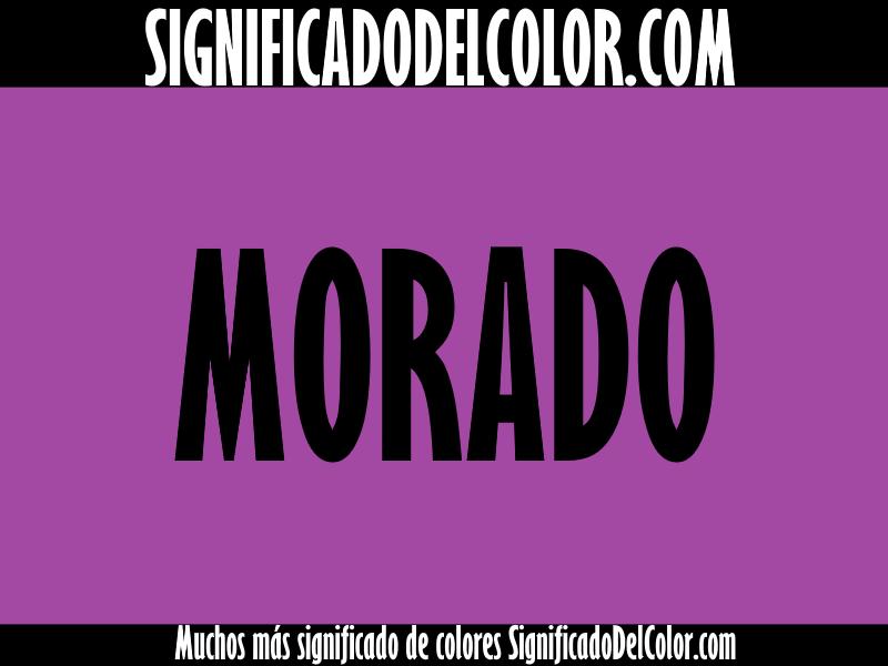 significado del color morado