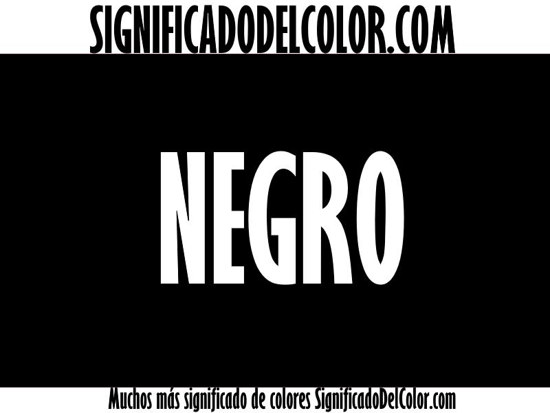 Significado del Color Negro ▷【SUEÑOS, ROPA, DECORACIÓN】