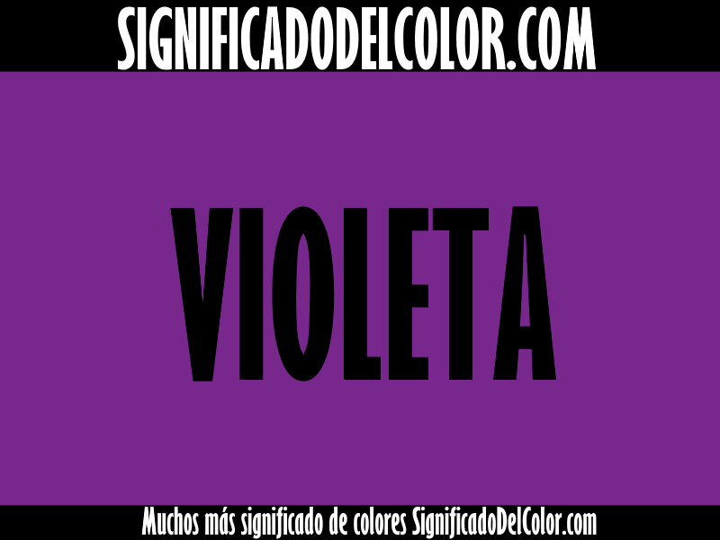 significado del color violeta