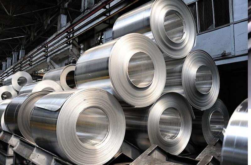 Ejemplo de color aluminio